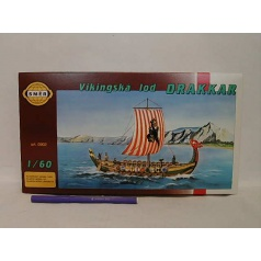Směr Vikingská loď Drakkar 1:60