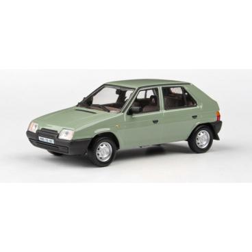 ABREX Škoda Favorit 136L 1987 Poplar Green model 1:43