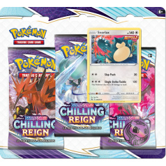 Pokémon TCG: SWSH06 Chilling Reign- 3 Blister Booster