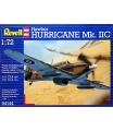 Revell Plastic ModelKit letadlo 04144 - Hawker Hurricane Mk.IIC (1:72)
