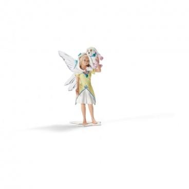 Schleich figurka Bayala - víla Tujena s pejskem