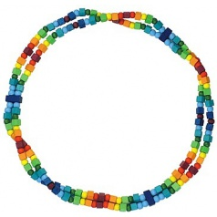 Detský náhrdelník dúhový
