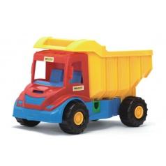 WADER Auto multitruck sklápač plast 38cm asst 3 farby od 12 mesiacov Wader