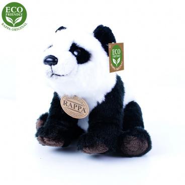 Rappa Plyšová panda sedící nebo stojící 22 cm ECO-FRIENDLY