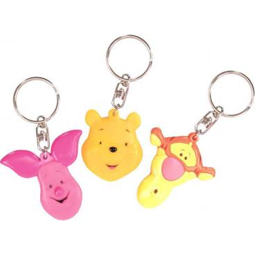Svítící přív. na klíče, min. odběr 1 dspl.=36 ks Medvídek Pú