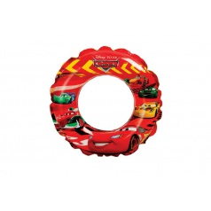 Intex Kruh plavací nafukovací Cars prům. 51 cm od 3-6 let