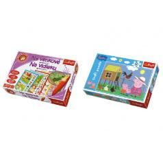 Trefl PACK Na Venkově s magickým perem  + Puzzle 30 dílků grátis (mix obrázků)