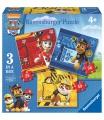 Ravensburger dětské puzzle Tlapková Patrola: Rubble, Marshall & Chase 25/36/49 dílků