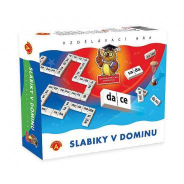 PEXI Alexander didaktická hra Slabiky v dominu