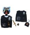 Karnevalová sada vesta pirátská dětská