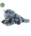 Rappa Plyšová perská kočka šedá ležící 30 cm ECO-FRIENDLY