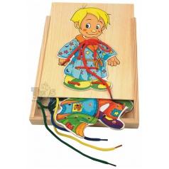 Woody Šněrovací šatní skříň - kluk