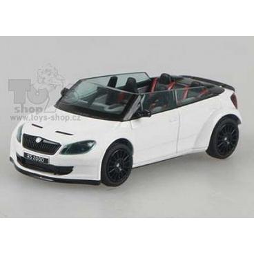 ABREX model Škoda Fabia RS2000 Concept Car White/Black
