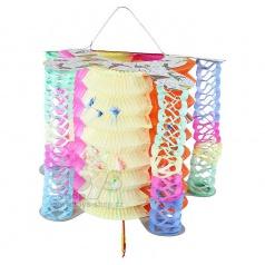 papírový lampión čínský