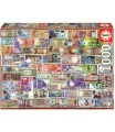 EDUCA 17659 Puzzle 1000 dílků - Bankovky