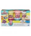 Hasbro Play-Doh modelína sada s konfetami 6ks