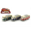 Teddies Autobus Kinsmart Volkswagen Classical kov 18cm asst 3 barvy