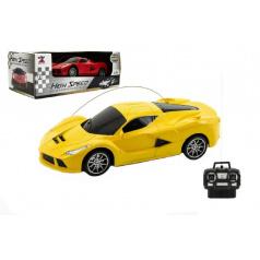 Teddies Auto RC plast 20cm na baterie asst 2 barvy v krabici 26x10x14cm