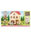 Sylvanian Families 2737 Dárkový set - Třípatrový dům s příslušenstvím A