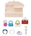 Sylvanian Families 6015 Město - módní butik s kabelkami a doplňky