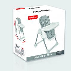 Dolu Dětská jídelní deluxe židlička Fisher Price