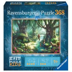 Ravensburger Exit KIDS Puzzle: V magickom lese 368 dielikov