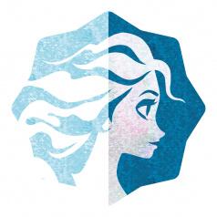 Cerdá Polštář s měnícími flitry Frozen