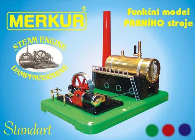 Merkur Cross Parní stroj - funkční model