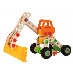 Simba Stavebnice Constructor 6 Bagr, 140 dílů