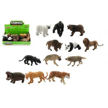 Zvířátko safari ZOO plast 10cm asst mix druhů