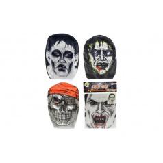 Maska látková asst 4 druhy v sáčku 18x26cm
