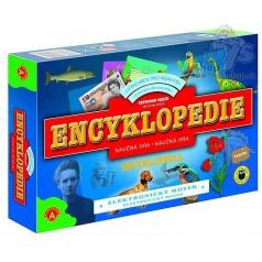 Alexander Encyklopedie - elektronický mozek hra