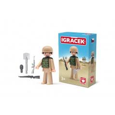 IGRÁČEK - Voják s doplňky