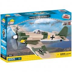 COBI Small Army stavebnice letadlo WW II Focke-Wulf Fw 190 A4, 250 k, 1 f