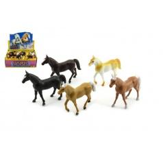 Teddies Kůň plast 10cm asst různé barvy