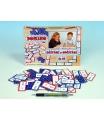 Voltik toys Svoboda elektronická hra Domino sčítání a odčítání