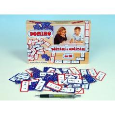 Svoboda elektronická hra Domino sčítání a odčítání