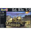 Revell tank model vozidlo Sd.Kfz. 7/2 (1:72) 03207