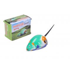 Wiky Myš na klíček kovová 7x5 cm v krabičce 5x7x3,5cm