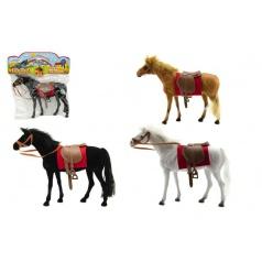 Teddies Kůň fliška 28cm asst 3 barvy