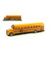 Teddies Autobus školní plast 30cm na setrvačník v blistru
