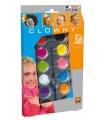 SES Clowny aqua 10 barev - Trendy, obličejové barvy