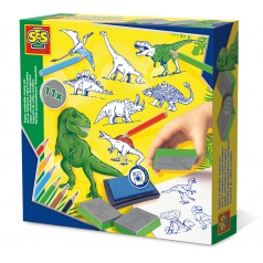SES Razítka dinosauři