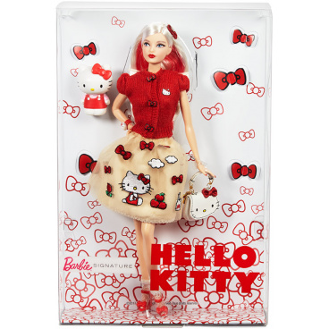 Mattel Barbie DWF58 HELLO KITTY