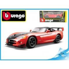 Auto Bburago 1:24 DODGE VIPER SRT 10 ACR RED