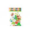 SMT Creatoys Malování zahrada omalovánky 12ks A4 s barvami a se štětcem na kartě