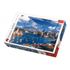 Trefl Puzzle Port Jackson, Sydney 1000 dílků v krabici 40x27x6cm