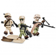 Cobi Figurky s doplňky Afrika Korps, 26 k