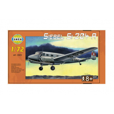 Směr Model Siebel Si 204 A 1:72 29,5x18cm v krabici 34x19x5,5cm