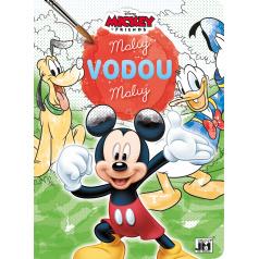 Jiri Models Omalovánka A4 Maluj vodou Mickey Mouse